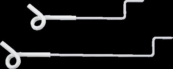 5 Stk. 40 cm Abstandhalter mit Ösenisolator, zum Annageln