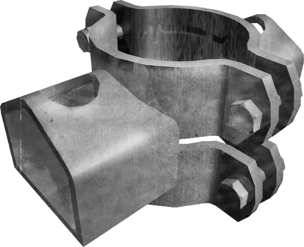 Schelle 102, 1 Riegelhalter TS, parallel