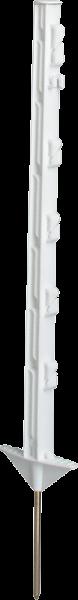 Robinienpfahl, halbiert, 2000 mm, d= 13-15 cm, gefast, 3-fach gespitzt,