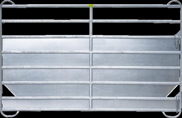 Panel-8 Plus, Länge 2,40 m, Höhe 1,94 m, mit Blechverkleidung