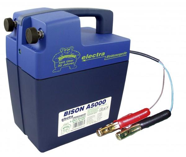 Bison A5000, Weidezaungerät für 12 V Akku