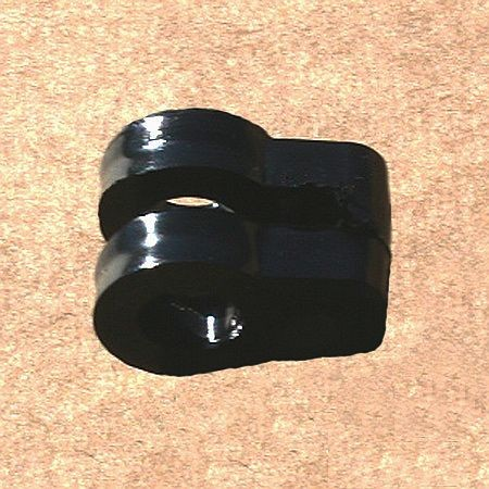 Euronetz-Kunststoffklammer, für 13 mm Pfahl