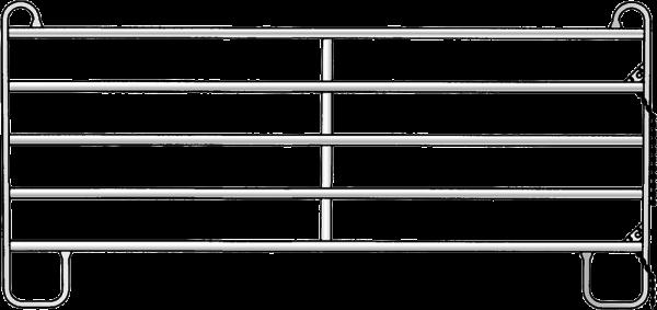 Panel-5, Länge 3,00 m, Höhe 1,45 m