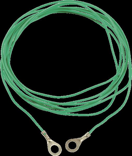 Erdstab-Verbindungskabel mit Ringösen, Länge 3 m