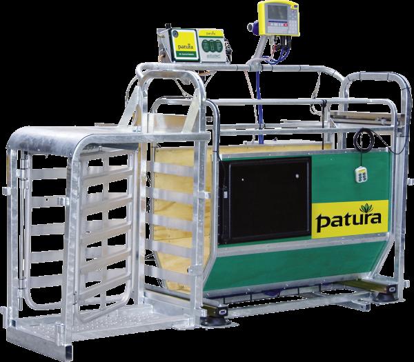 3-Wege- Wiege- und Sortierbox mit Druckluftbetrieb