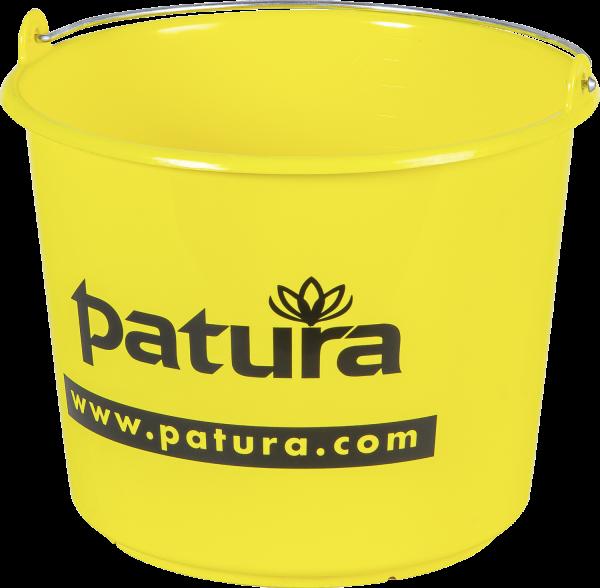 Kunststoffeimer, 12 Liter, gelb