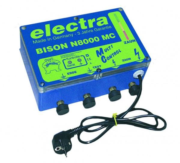 Bison N 8000 MC, Weidezaungerät 230 V