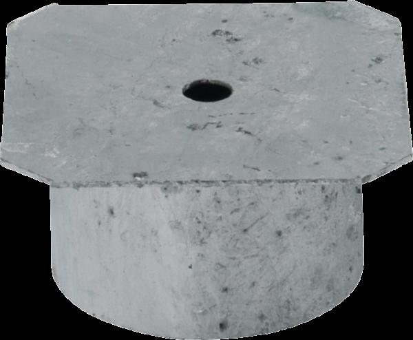Abdeckung für Einbauhülse 102 mm