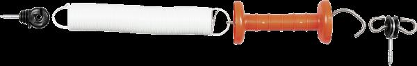 Torspannfederset ultra-weiß, bis 5 m Breite, weiße Feder
