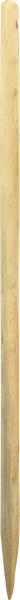 Robinienpfahl natur, gespalten, Länge 1,5 m, D = 6-8 cm