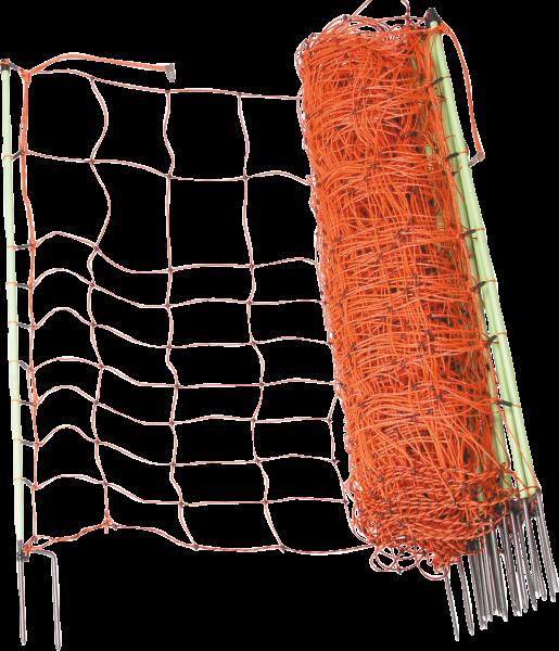 Ersatzpfahl für Elektrozaunnetz 90 cm mit Doppelspitze