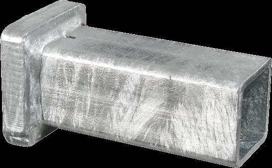 Einschlagkappe für Hartholz-Pfähle bis 40 x 40 mm