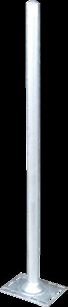 Pfosten 76, Länge 1,65 m, mit Bodenplatte für Spaltenboden