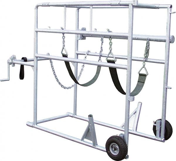 Klauenpflegestand Compact-Stall, feuerverzinkt
