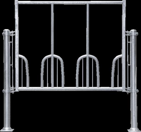 Universal-Pferdefressgitter, 3 Fressplätze, Montagelänge 191 cm