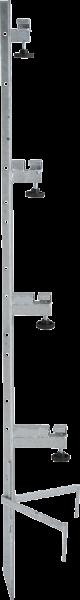 Spezial-Montagepfahl, für bis zu 4 Haspeln , Zaunhöhe bis 1,35 m