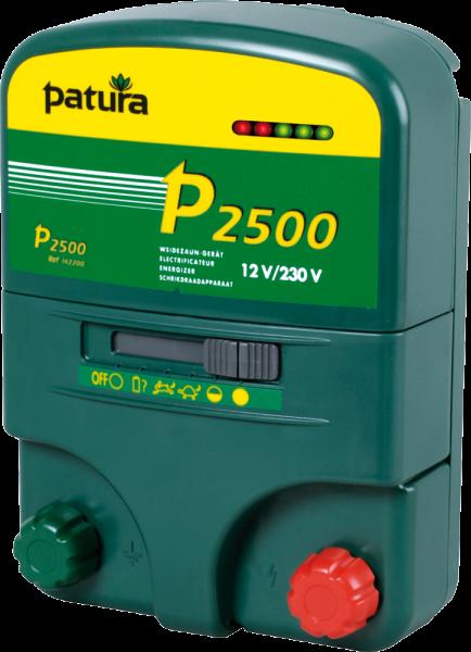 Patura P2500, Kombi-Weidezaungerät 230V/12V