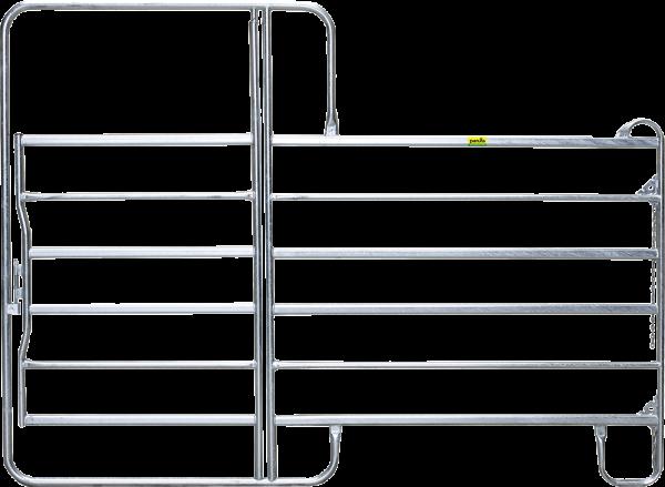 Panel-6 mit Tor, Länge 3,60 m, Höhe 2,20 m