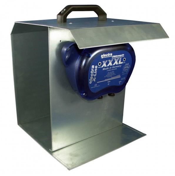X-Line XXXL mit Tragebox und Solarmodul 12 V, 10 W