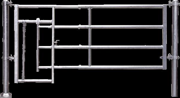 Abtrennung R4 (1/2) Kälberschlupf, Montagelänge 195 - 275 cm