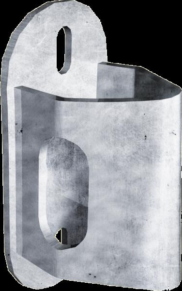 Anschraubteil für Schnellverschluss RS quer