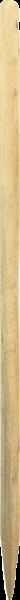 Robinienpfahl natur, gespalten, Länge 2,0 m, D = 6-8 cm