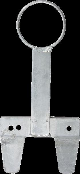 Nuckeleimerhalter Kunststoff grau
