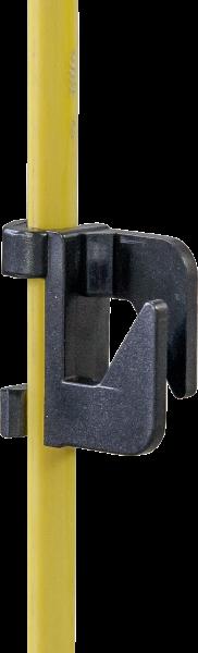 25 Stk. Zusatzisolator für Oval-Glasfiberpfahl