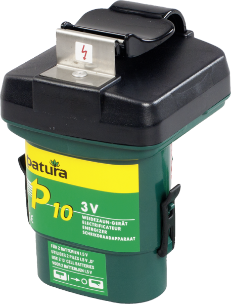 Patura P10, Weidezaungerät für 2 x Monozelle 1,5 V