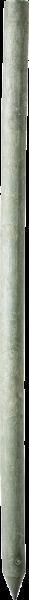 Recycling-Kunststoffpfahl rund, Länge 2,0 m, D = 8 cm
