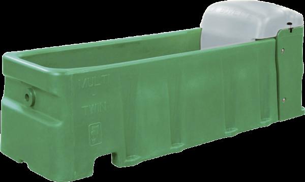 Tränkewanne Multi Twin S, Inhalt 197 ltr ohne Schwimmerventil