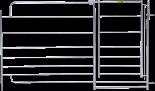 Steckfix-Horde XL mit Tor, Länge 1,83 m, Höhe 1,10 m