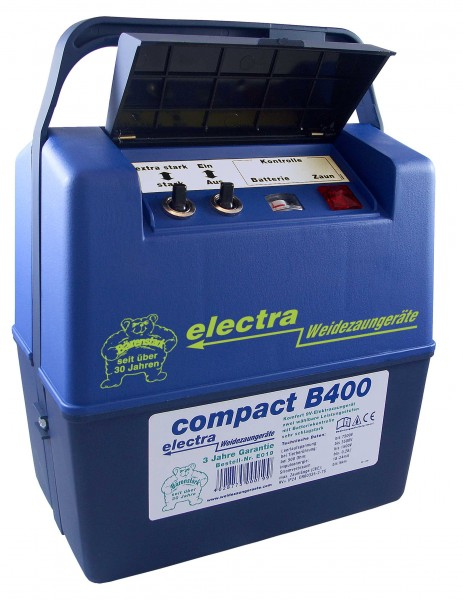 compact B400, Weidezaungerät für 9V Batterie