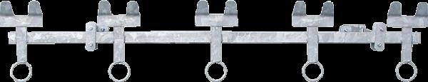 Nuckeleimerhalter 5-fach, für Kälberhütte XL