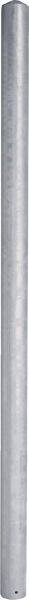 Pfosten 76, Länge 1,65 m, mit Bodenplatte außermittig