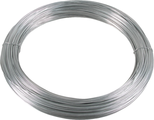 280 m Glattdraht 1,6 mm, verzinkt, 5 kg Ring