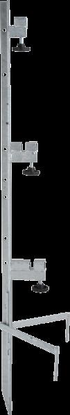 Spezial-Montagepfahl, für bis zu 3 Haspeln , Zaunhöhe bis 1,00 m