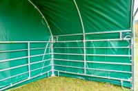 Wetterschutzplane Giebelseite (für Panel-Dach Compact)