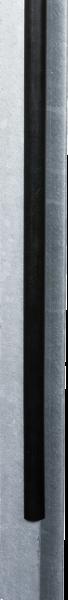 50 cm PVC-Schutzprofil für Stahlträger