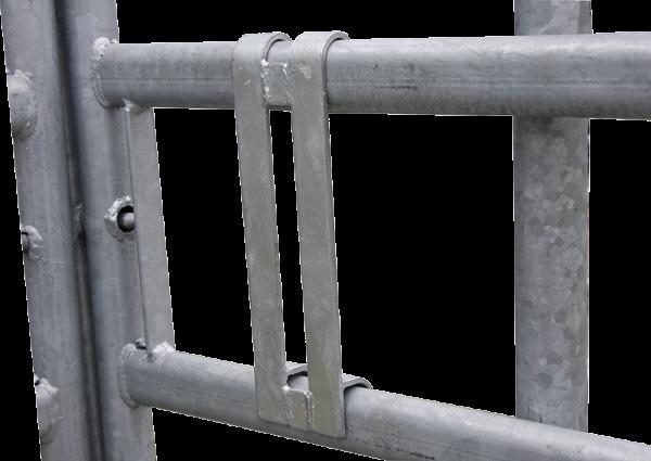 Riegelhalter, anschraubbar, für Panel