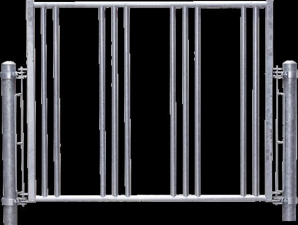 Sicherheits-Pferdefressgitter, 5 Fressplätze, Montagelänge 273 cm