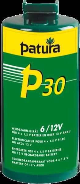 Patura P30, Weidezaungerät für 4 Monozellen oder externen 12 V Akku