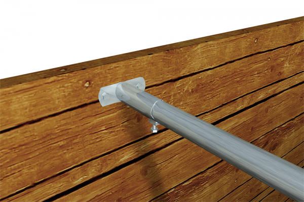 Wandhalter für Rohr 38 mm