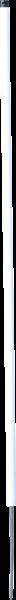 10 Stk. 1,06 m Kunststoffpfahl rund 19 mm Ø, Einzelspitze