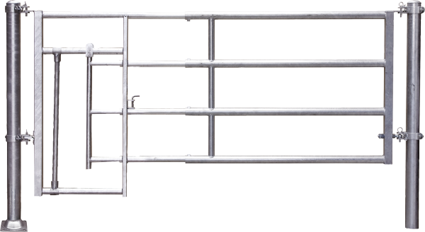 Abtrennung R4 (4/5) Kälberschlupf, Montagelänge 445 - 545 cm