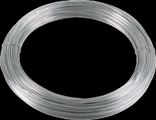 250 m Glattdraht 1,8 mm, verzinkt, 5 kg Ring