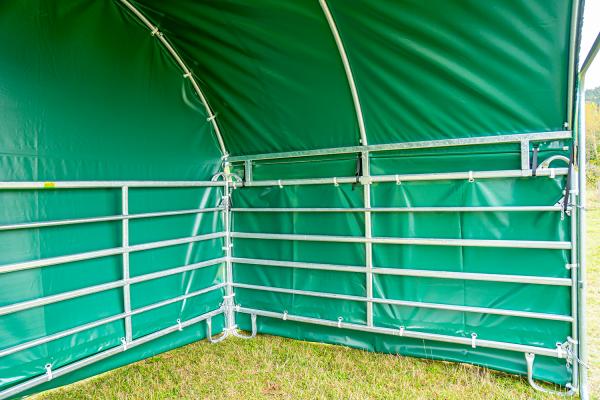 Wetterschutzplane Seitenteil 3 m (für Panel-Dach Compact)
