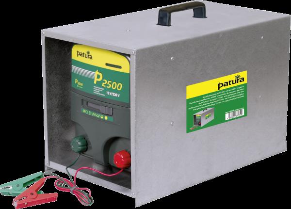 Patura P2500 mit offener Tragebox, Kombi-Weidezaungerät 230V/12V