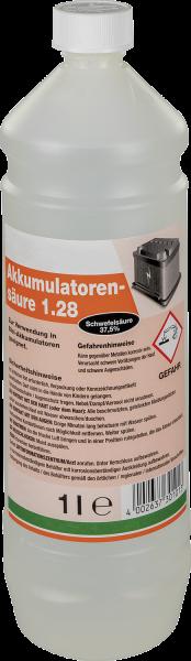 Batteriesäure (Akkumulatorensäure), 1 Liter