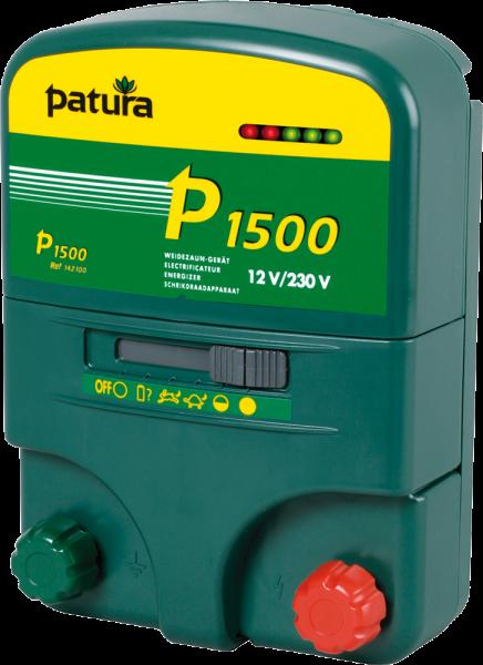 Patura P1500, Kombi-Weidezaungerät 230V/12V